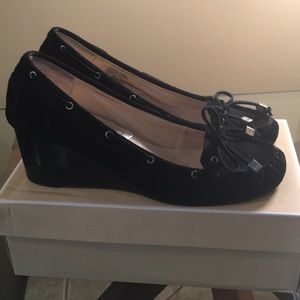 Michael Kors Suede Wedge Shoes sz 10